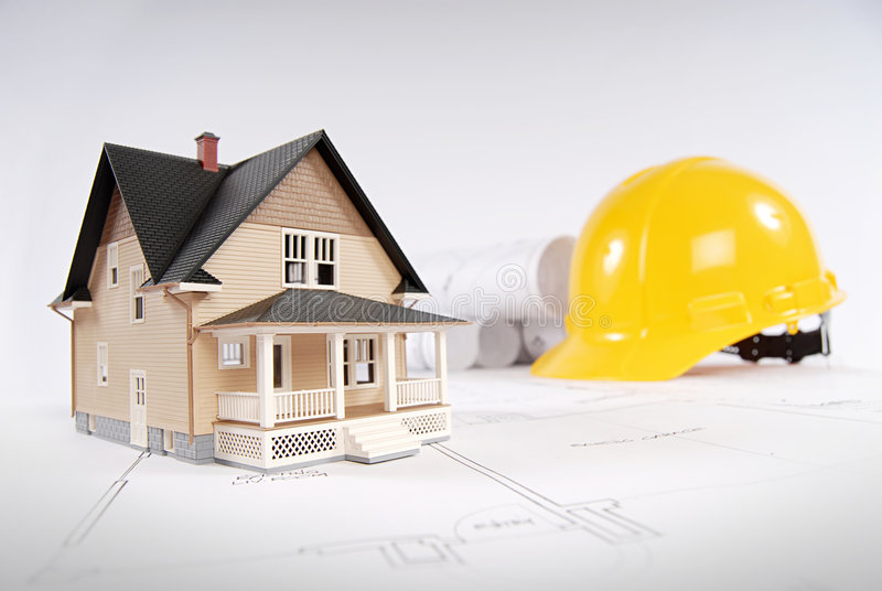 σπίτι κατασκευής έννοια&sigmaf στοκ φωτογραφία
