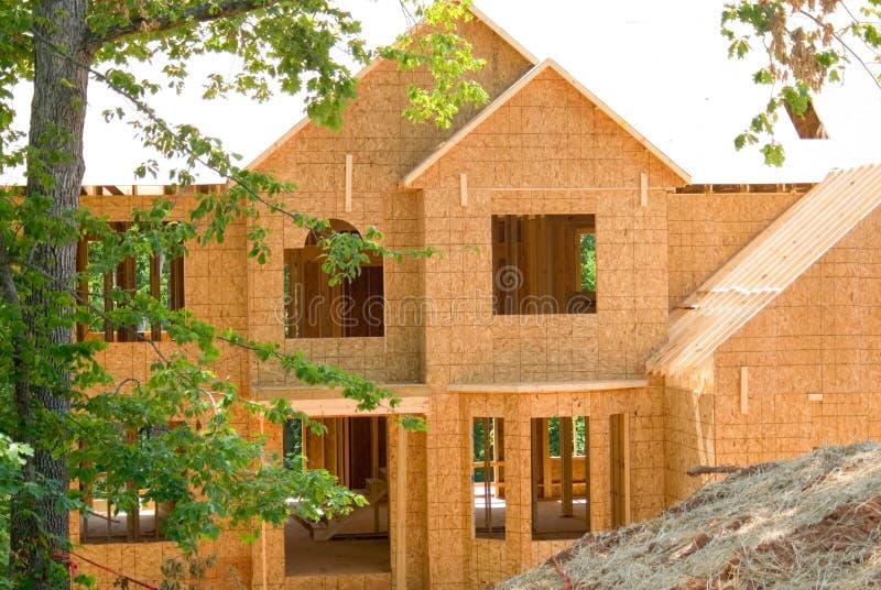 σπίτι κατασκευής νέο στοκ εικόνες με δικαίωμα ελεύθερης χρήσης