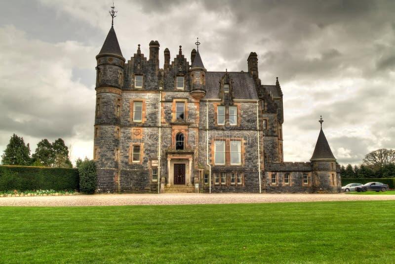 Σπίτι κολακείας στο κάστρο στοκ εικόνες με δικαίωμα ελεύθερης χρήσης