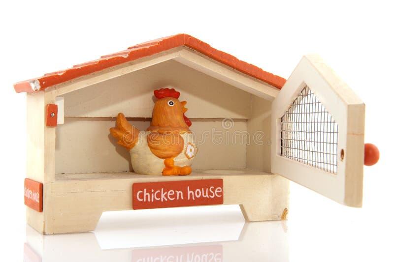 σπίτι κοτόπουλου στοκ φωτογραφία με δικαίωμα ελεύθερης χρήσης