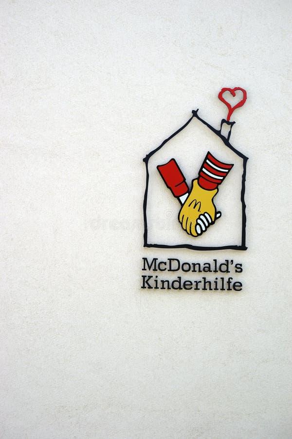 Σπίτι Μάιντς MC Donald του Ronald στοκ φωτογραφία με δικαίωμα ελεύθερης χρήσης