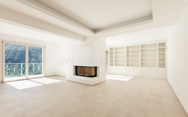Σπίτι, μεγάλο καθιστικό στοκ εικόνες με δικαίωμα ελεύθερης χρήσης