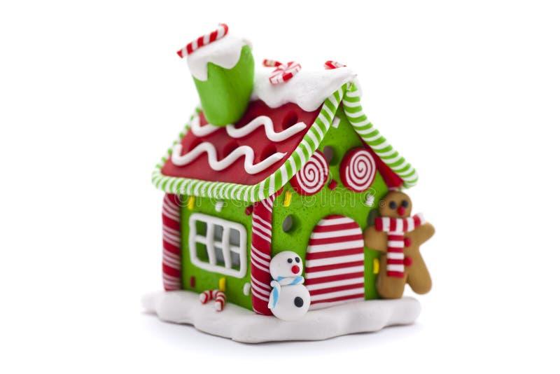 Σπίτι μελοψωμάτων Χριστουγέννων στοκ φωτογραφίες με δικαίωμα ελεύθερης χρήσης