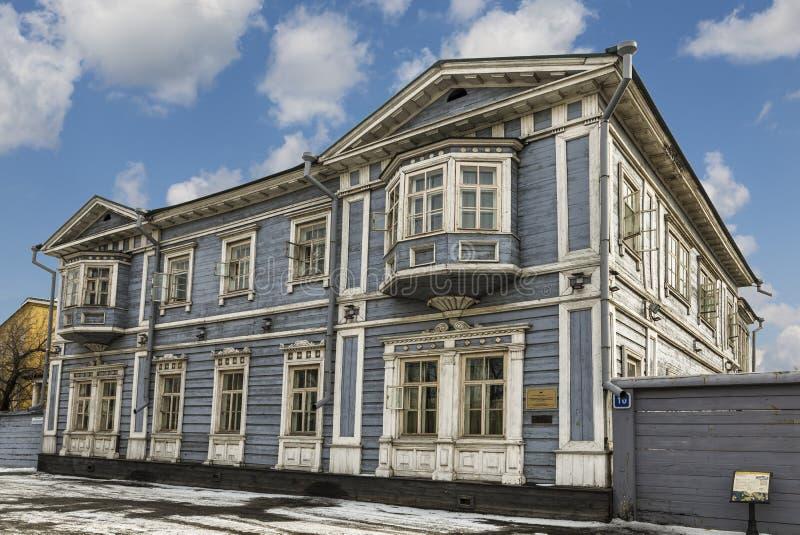 Σπίτι-μουσείο του πρίγκηπα S γ Volkonsky Περιφερειακό ιστορικό και αναμνηστικό μουσείο του Ιρκούτσκ Decembrists Ιρκούτσκ στοκ φωτογραφίες με δικαίωμα ελεύθερης χρήσης