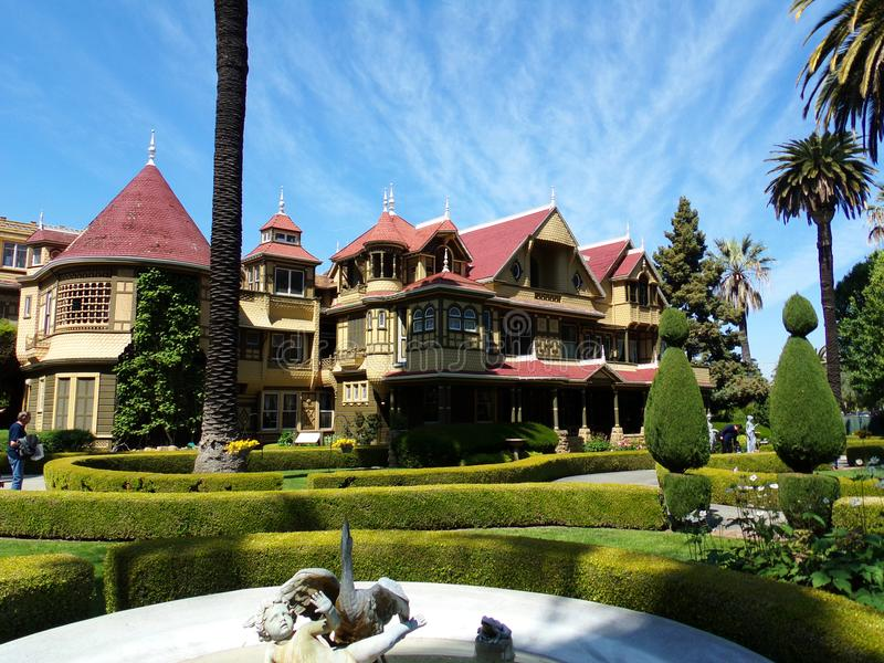 Σπίτι μυστηρίου του Winchester, San Jose, Καλιφόρνια στοκ εικόνα