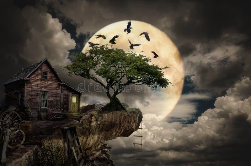Σπίτι νεράιδων (απότομος βράχος) ελεύθερη απεικόνιση δικαιώματος