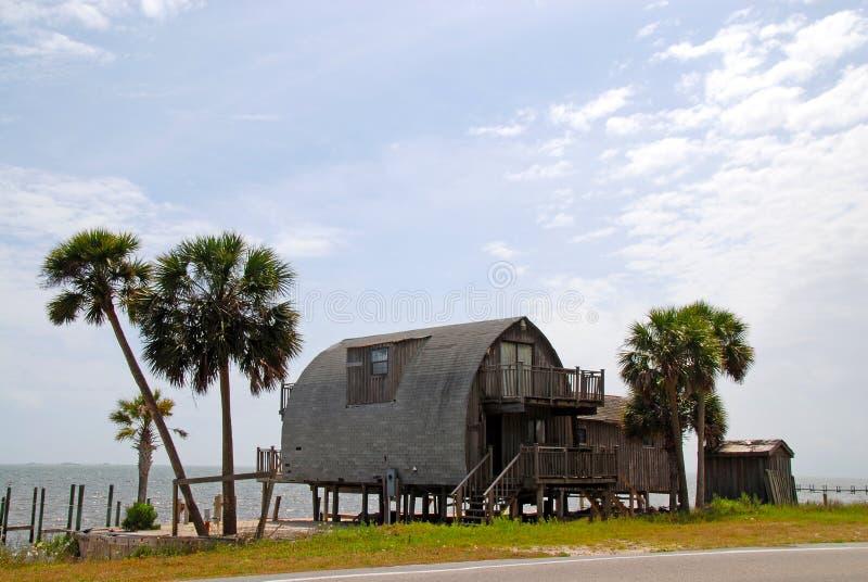 Σπίτι ξυλοποδάρων στοκ εικόνες