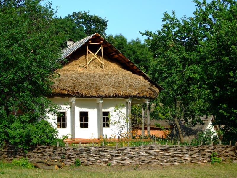 σπίτι Ουκρανός στοκ φωτογραφίες με δικαίωμα ελεύθερης χρήσης