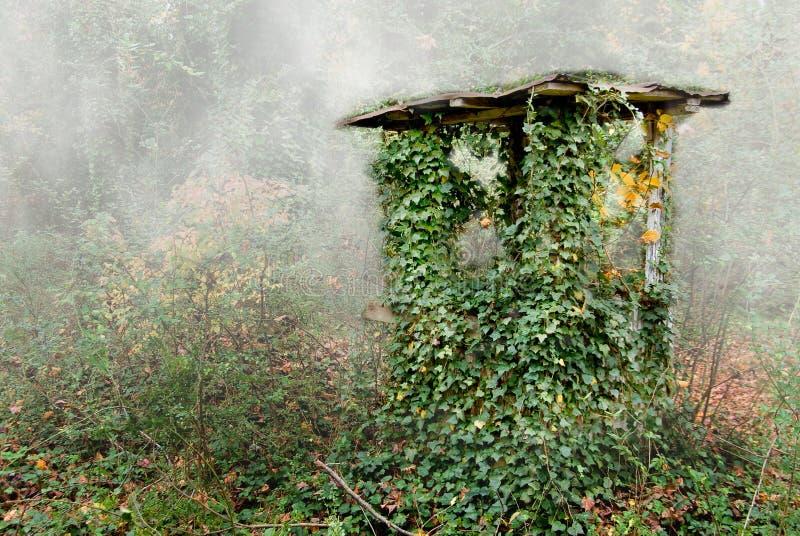 σπίτι παλαιό καλά στοκ φωτογραφία