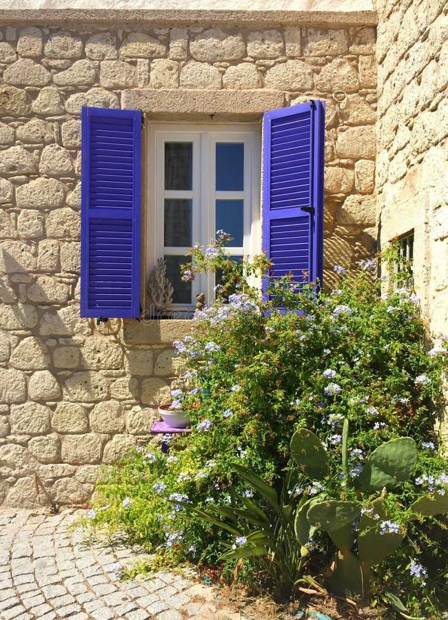 Σπίτι πετρών Alaçatı στοκ φωτογραφία με δικαίωμα ελεύθερης χρήσης