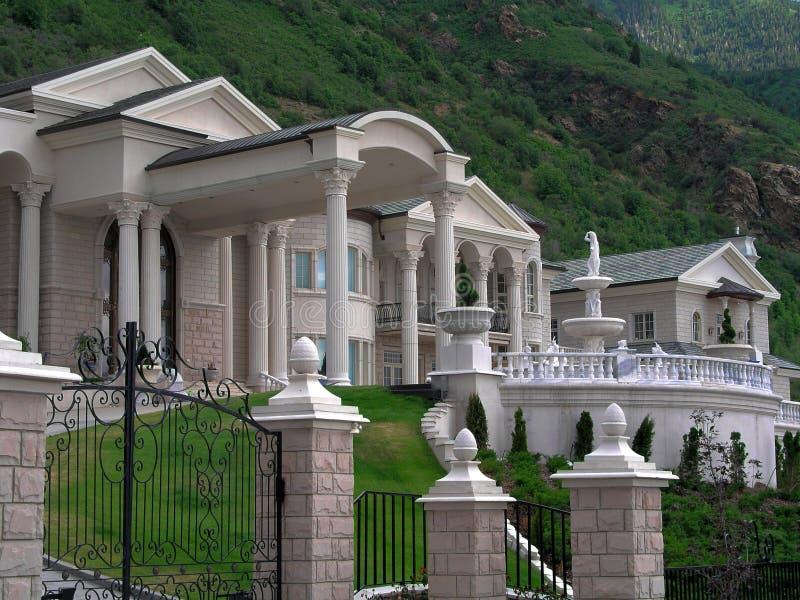 σπίτι πλούσιο στοκ φωτογραφία με δικαίωμα ελεύθερης χρήσης