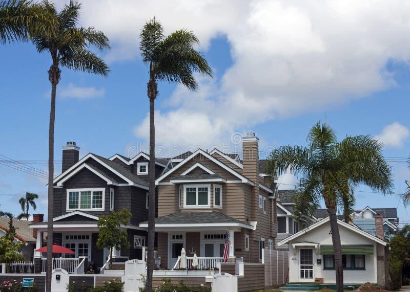 Σπίτι πολυτέλειας στο Σαν Ντιέγκο στοκ εικόνες
