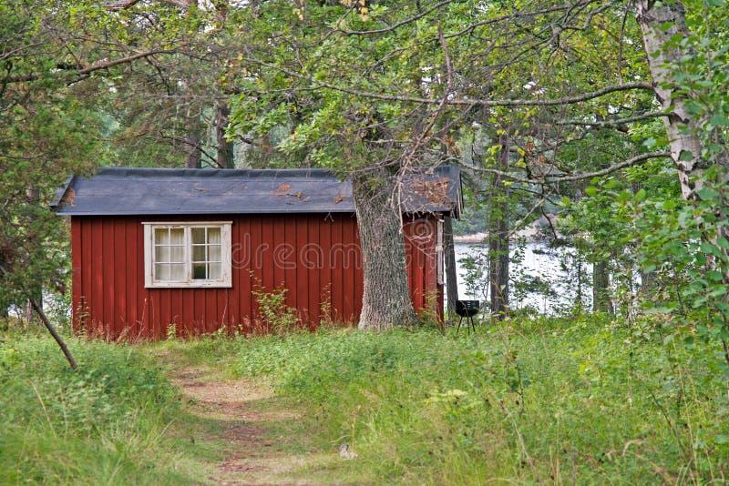 σπίτι σουηδικά στοκ φωτογραφία με δικαίωμα ελεύθερης χρήσης