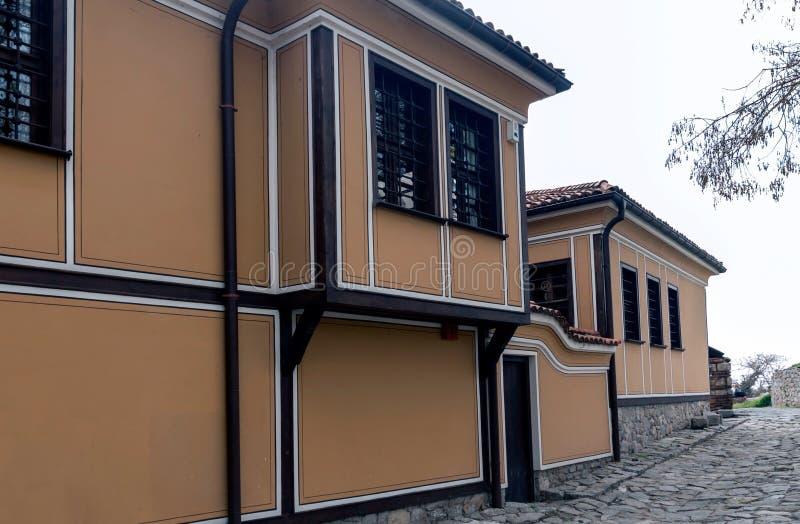 Σπίτι στην παλαιά πόλη Plovdiv, Βουλγαρία στοκ φωτογραφίες με δικαίωμα ελεύθερης χρήσης