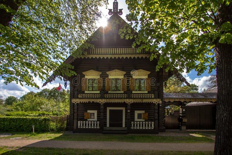 Σπίτι στη ρωσική αποικία Alexandrowka, Πότσνταμ, Γερμανία στοκ φωτογραφίες με δικαίωμα ελεύθερης χρήσης