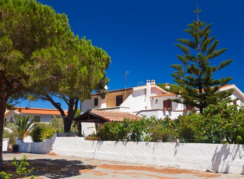 Σπίτι στη Σαρδηνία στοκ εικόνα