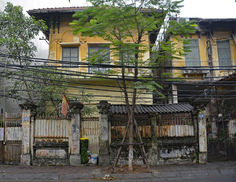Σπίτι στο Ανόι στοκ φωτογραφίες με δικαίωμα ελεύθερης χρήσης