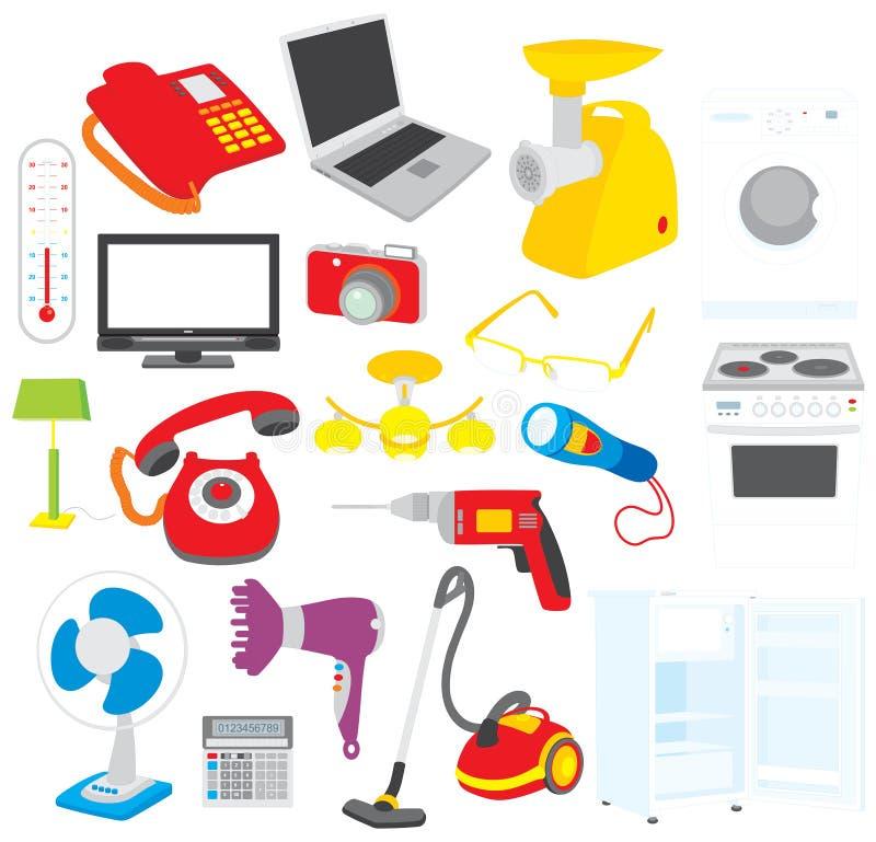 σπίτι συσκευών διανυσματική απεικόνιση