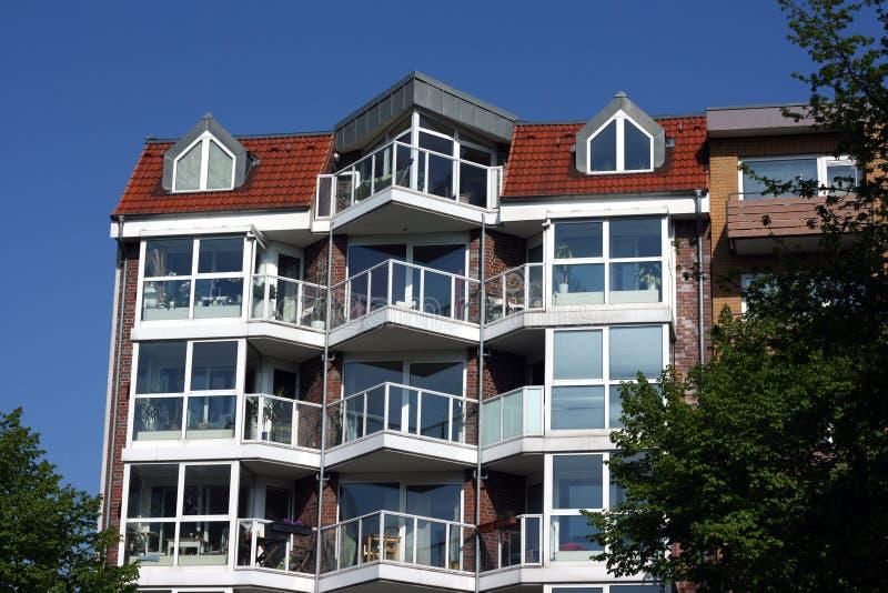 σπίτι της Γερμανίας Αμβούρ&g στοκ εικόνα
