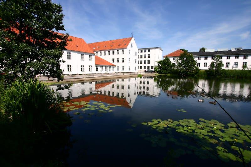 σπίτι της Δανίας στοκ εικόνα