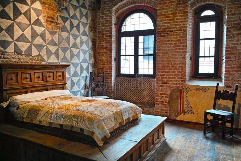 Σπίτι της κρεβατοκάμαρας της Juliet στοκ εικόνες