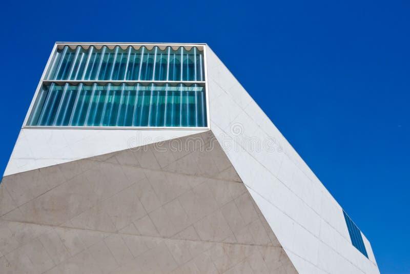 Σπίτι της μουσικής (Casa DA Musica) στο Πόρτο στοκ φωτογραφία με δικαίωμα ελεύθερης χρήσης