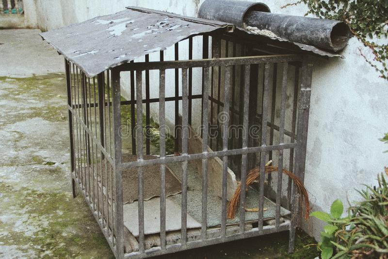 Σπίτι της Pet, αχρησιμοποίητο στοκ εικόνα με δικαίωμα ελεύθερης χρήσης