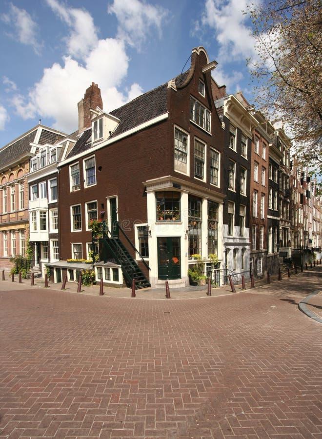 σπίτι του Άμστερνταμ στοκ φωτογραφία με δικαίωμα ελεύθερης χρήσης
