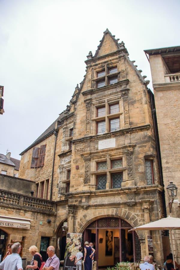 Σπίτι του δεσμού ½ Λα Boï ¿ στο Λα Caneda Sarlat στοκ φωτογραφίες με δικαίωμα ελεύθερης χρήσης