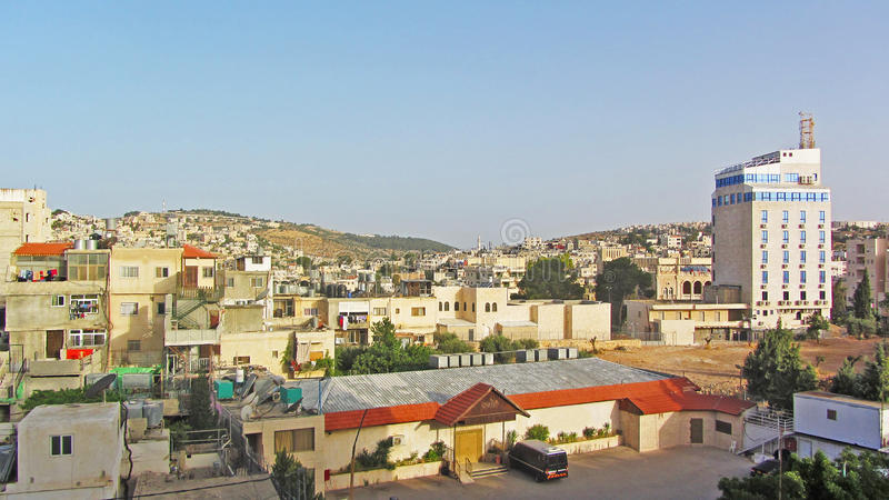 Σπίτι του Ισραήλ στο λόφο στοκ φωτογραφία με δικαίωμα ελεύθερης χρήσης