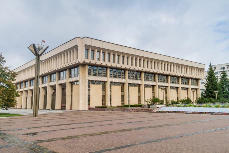 Σπίτι του Κοινοβουλίου σε Vilnius, Lithuan στοκ φωτογραφίες