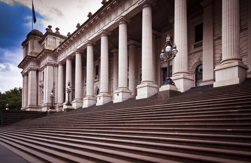 Σπίτι του Κοινοβουλίου της Μελβούρνης στοκ εικόνα
