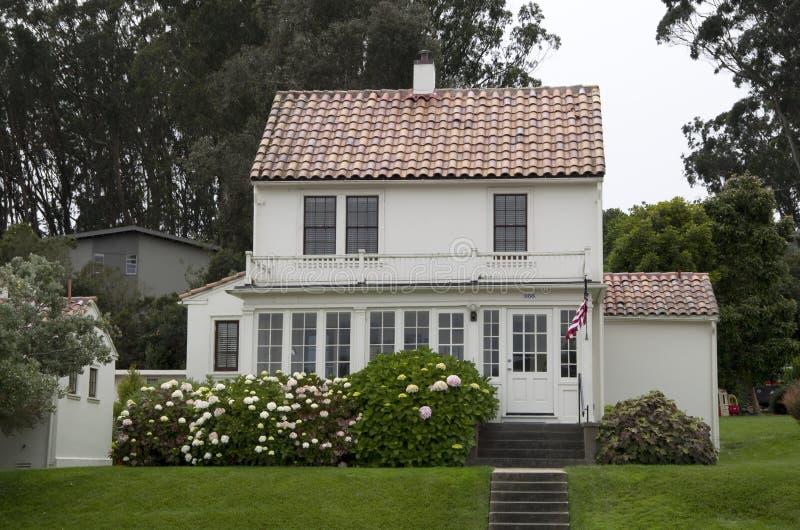 Σπίτι του Σαν Φρανσίσκο στοκ εικόνες