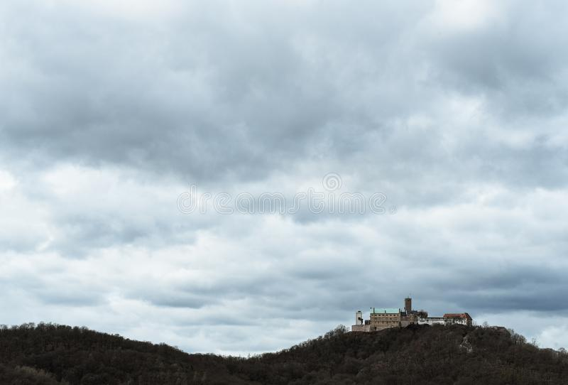 Σπίτι του Castle Wartburg του Martin Luther στοκ φωτογραφίες
