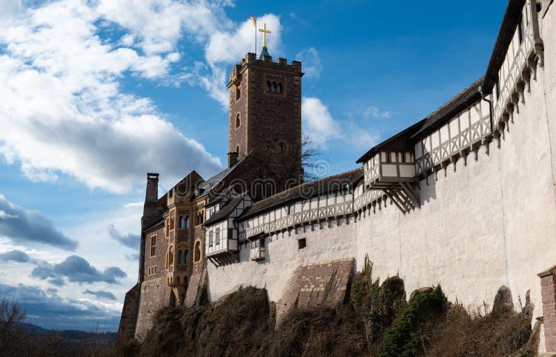 Σπίτι του Castle Wartburg του Martin Luther στοκ εικόνες