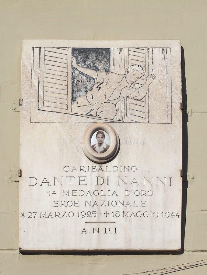 Σπίτι του Dante Di Nanni στο Τορίνο στοκ εικόνες