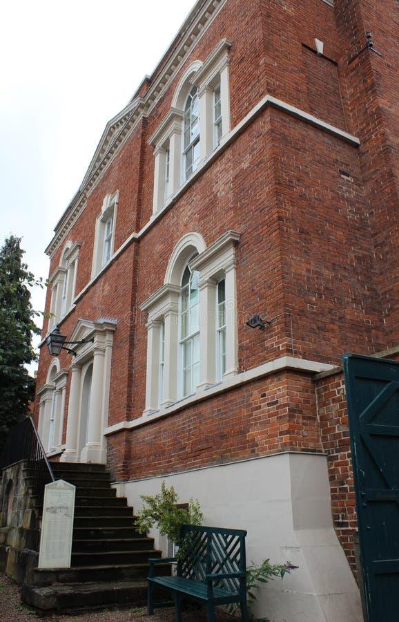 Σπίτι του Erasmus Δαρβίνος σε Lichfield, Staffordshire στοκ φωτογραφίες