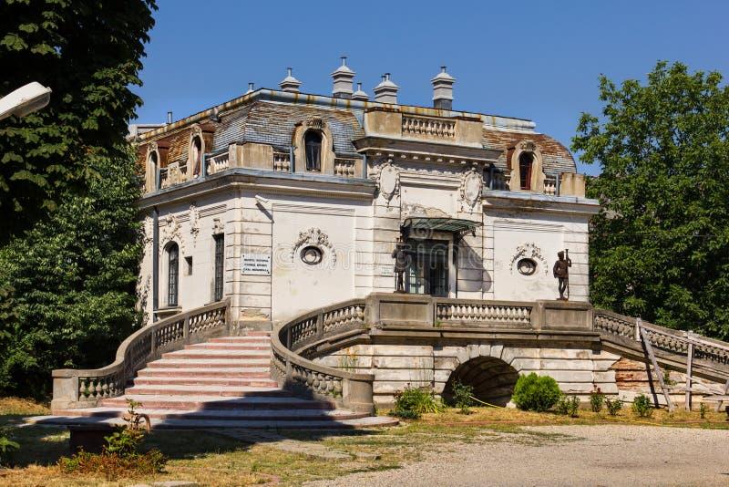 Σπίτι του George Enescu στο Βουκουρέστι στοκ φωτογραφία με δικαίωμα ελεύθερης χρήσης