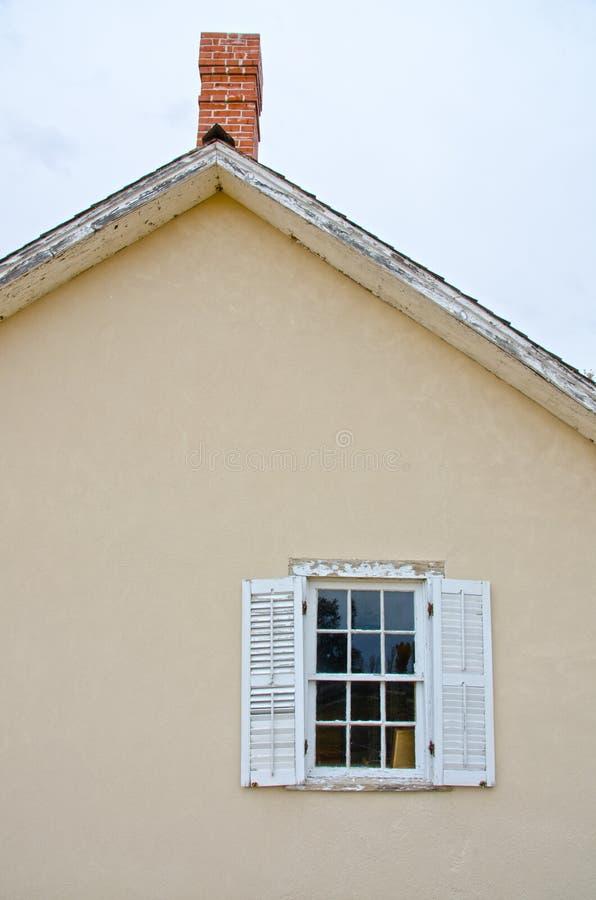 Σπίτι του Thomas Boggs σε Boggsville στο ίχνος Σάντα Φε στοκ εικόνα