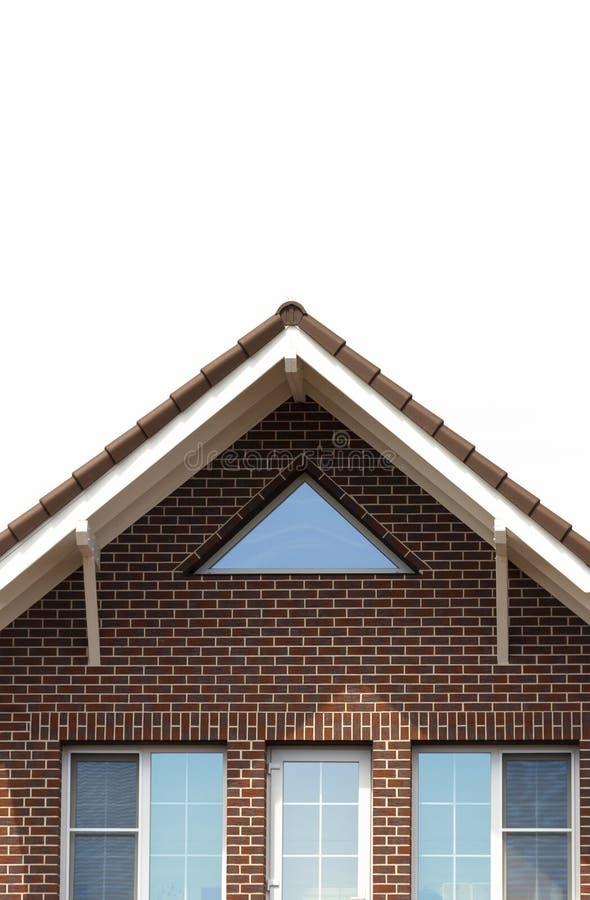 Σπίτι τούβλου σαλαχιών στοκ εικόνες