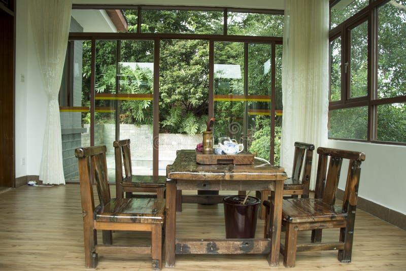 Σπίτι τσαγιού στοκ φωτογραφίες με δικαίωμα ελεύθερης χρήσης