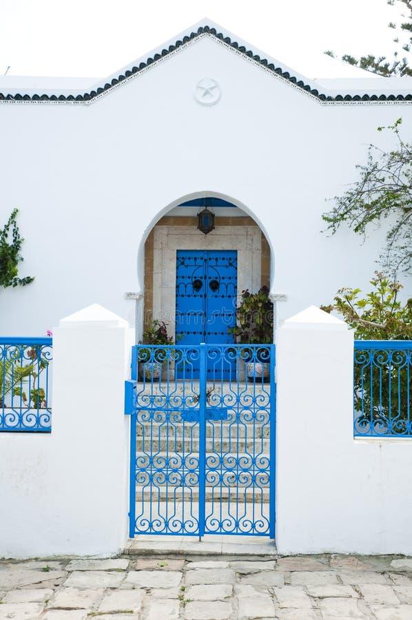 σπίτι Τυνήσιος στοκ φωτογραφίες