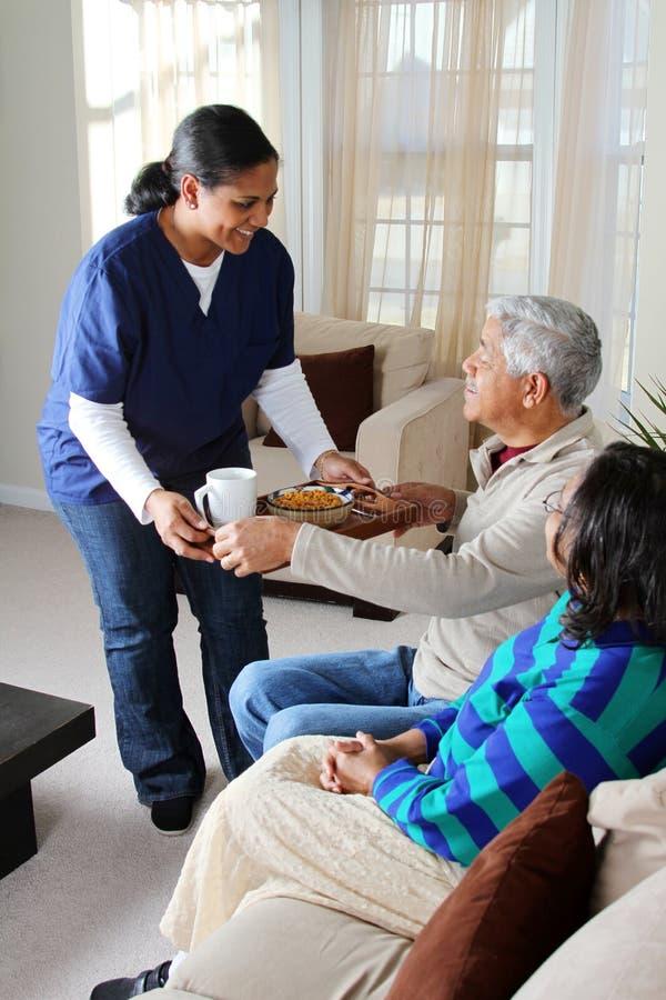 σπίτι υγείας προσοχής στοκ φωτογραφίες