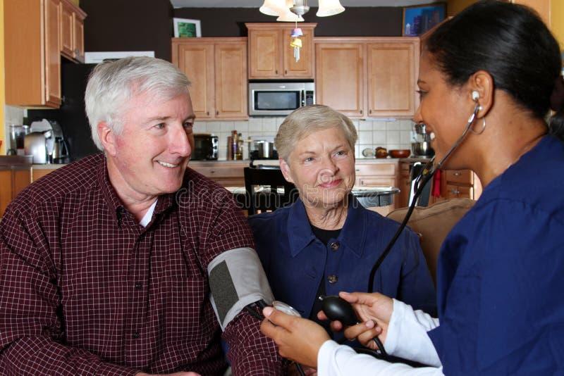 σπίτι υγείας προσοχής στοκ φωτογραφία με δικαίωμα ελεύθερης χρήσης