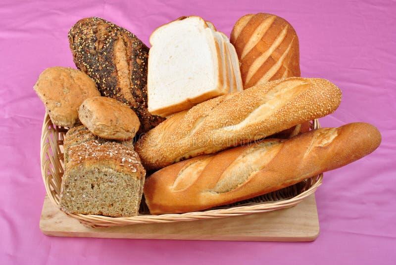 σπίτι ψωμιού καλαθιών που &g στοκ εικόνα με δικαίωμα ελεύθερης χρήσης
