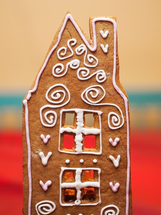 Σπίτι ψωμιού πιπεροριζών στοκ φωτογραφίες