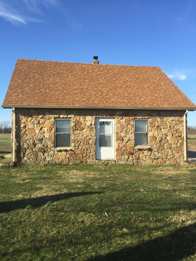 Σπίτι ψωμιού πιπεροριζών στοκ φωτογραφία