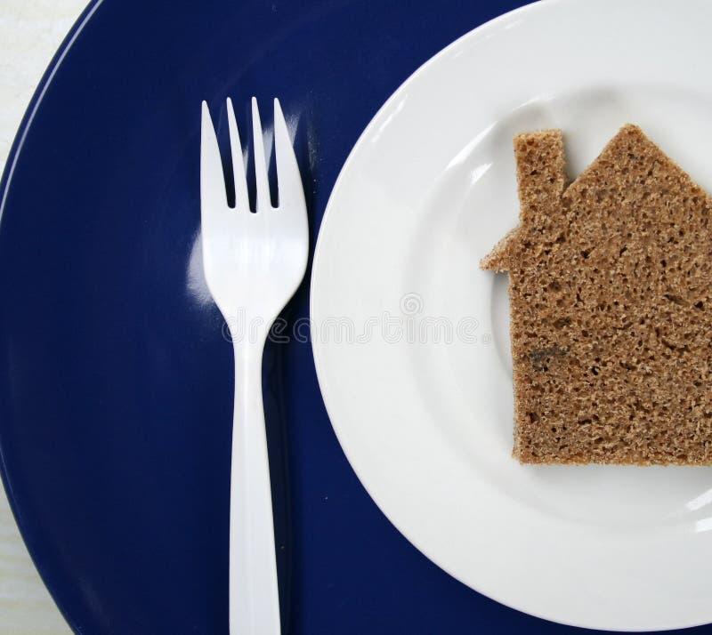 σπίτι ψωμιού στοκ εικόνες
