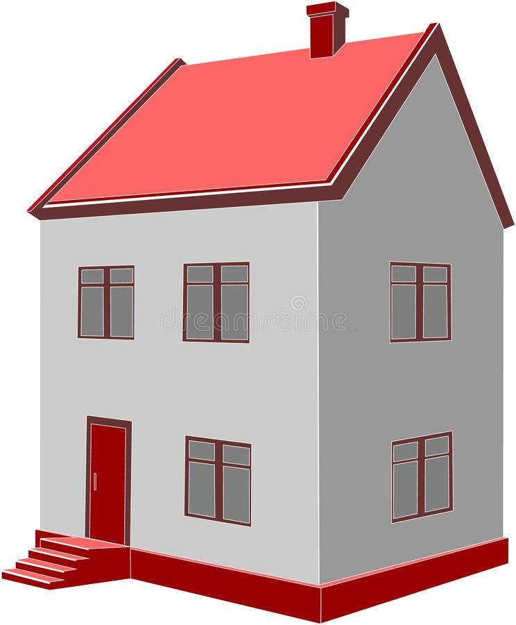 σπίτι 04 ελεύθερη απεικόνιση δικαιώματος