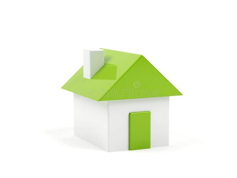 Σπίτι. απεικόνιση αποθεμάτων